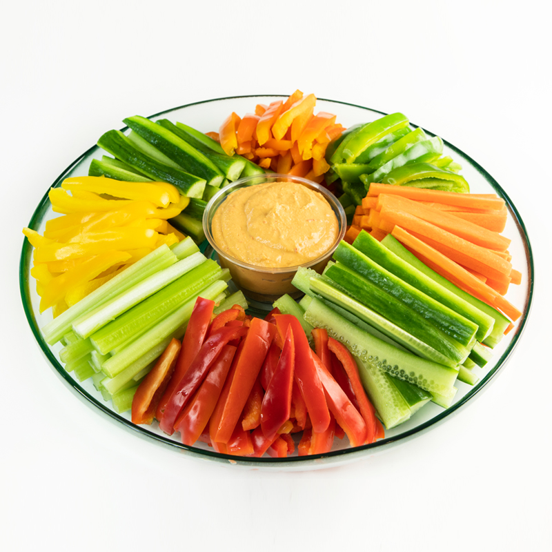 Office Vegetable & Hummus Platter