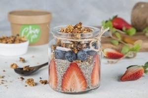 Berry Nice Chia Jar