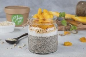 Mango Passion Chia Jar