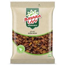 Organic Raisins Brown 200g