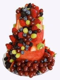 Watermelon Cake 3 Tiers