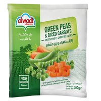 Green Peas & Diced Carrots-400g