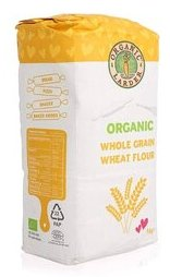 Organic Whole Grain Wheat Flour-1 kg