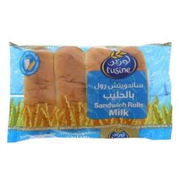 Lusine Milk Sandwich Bread Roll – 4 Pcs Per Pack