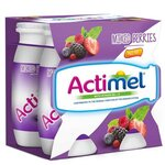 Actimel Mixed Berries – 4 x 93Ml