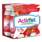 Actimel Strawberries – 4 x 93Ml