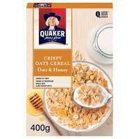 Crispy Cereal Oats & Honey – Quaker – 400g