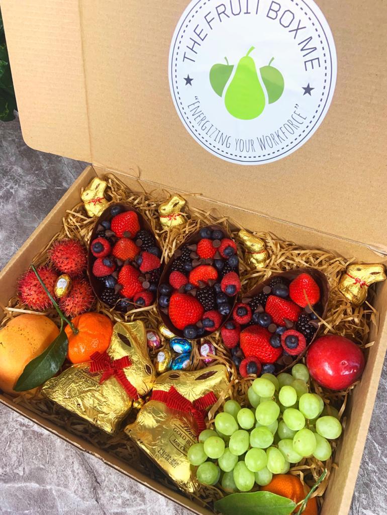 Easter Bunny Fruit Box