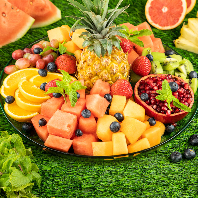 Office Mix Tropical Fruit Platter