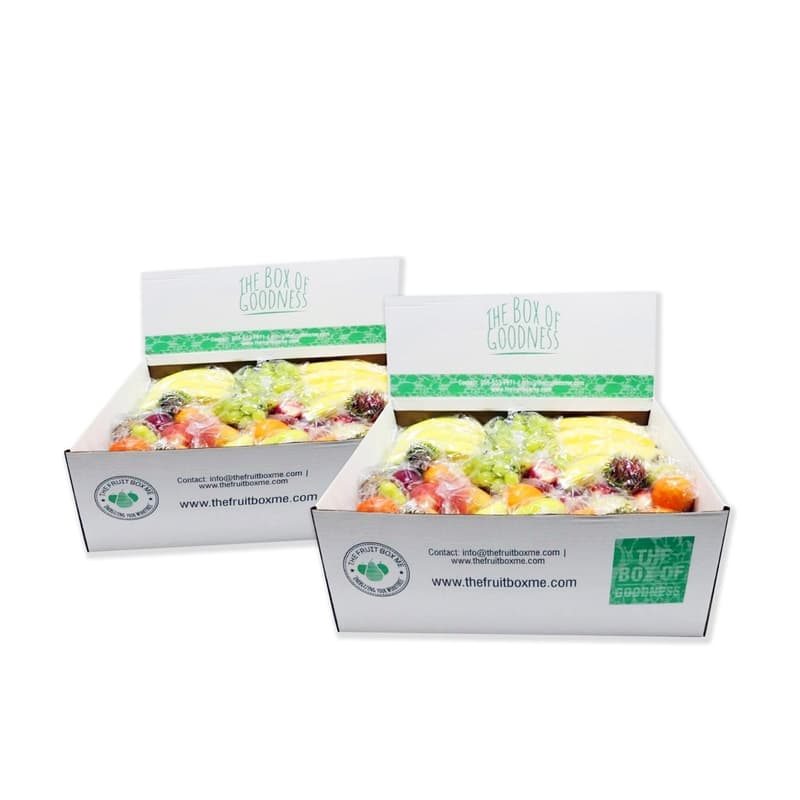 Large Fruit Box Individually Wrapped Fruits 24kg