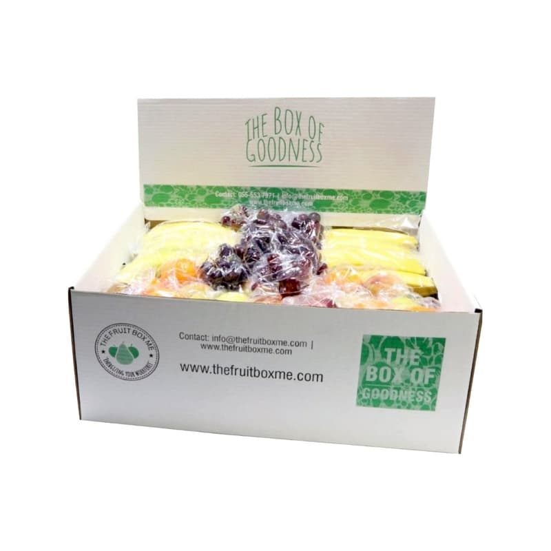 Medium Fruit Box Individually Wrapped Fruits 12kg